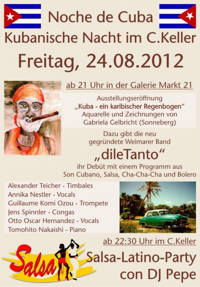 24. August 2012 | erster öffentlicher Auftritt