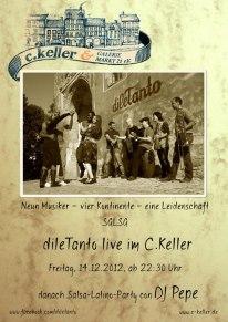 14. Dezember 2012 | Live im C.Keller