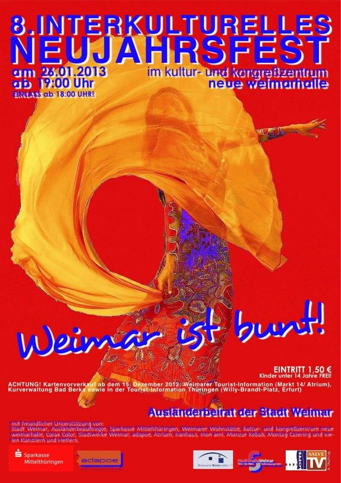 26. Januar 2013 | Interkulturelles Neujahrsfest Weimarhalle