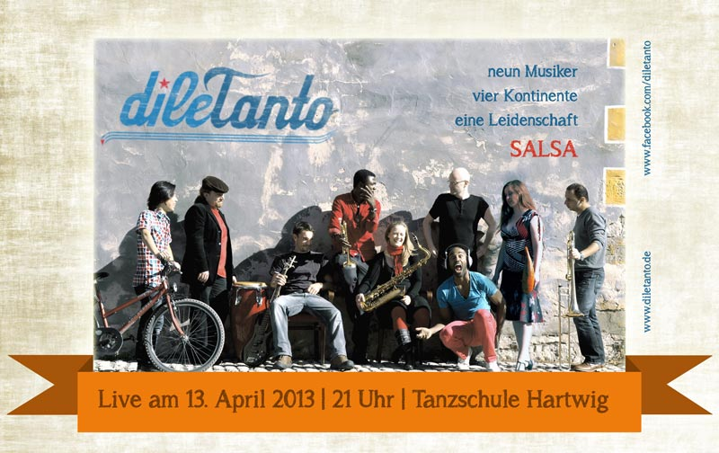 13. April 2013 | Salsa-Party in der Tanzschule Hartwig