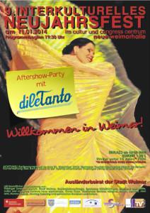 Interkulturelles Neujahrsfest 2014 @ Congress Centrum Neue Weimarhalle | Weimar | Thüringen | Deutschland
