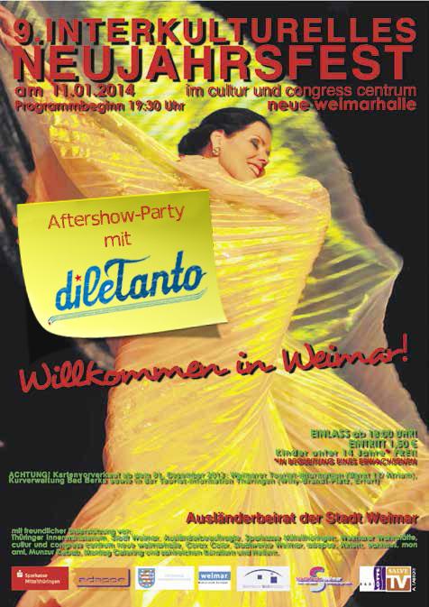 11. Januar 2014 | Interkulturelles Neujahrsfest Weimarhalle