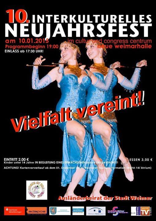 10. Januar 2015 | Interkulturelles Neujahrsfest in der Weimarhalle