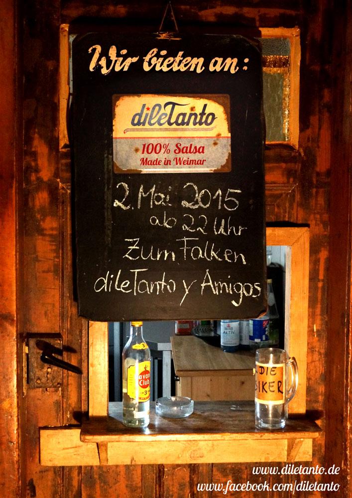 2. Mai 2015 | dileTanto y Amigos - 3. Geburtstag im Falken