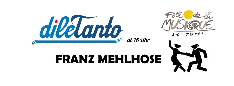 21. Juni 2015 | fête de la musique beim FRANZ MEHLHOSE Erfurt