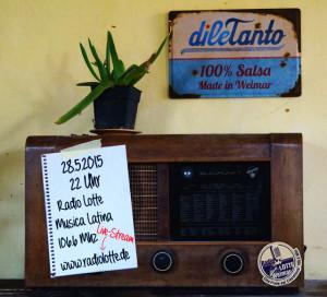 dileTanto bei Radio Lotte @ bei euch zuhause - en tu casa - at home - chez vous - あなたの家で - di rumah dengan Anda | Weimar | Thüringen | Deutschland