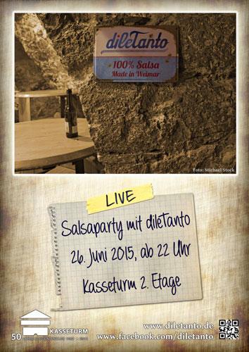 26. Juni 2015 | Salsaparty im Kasseturm