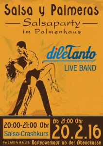 Salsa y Palmeras - dileTanto live im Palmenhaus @ Palmenhaus | Erfurt | Thüringen | Deutschland