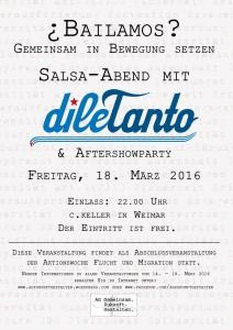Abschlussfest der Aktionswoche Flucht & Migration @ C.Keller   Weimar   Thüringen   Deutschland
