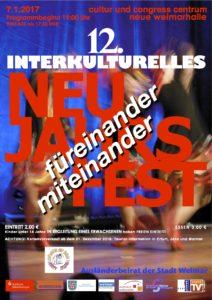 Interkulturelles Neujahrsfest 2017 @ Congress Centrum Neue Weimarhalle | Weimar | Thüringen | Deutschland