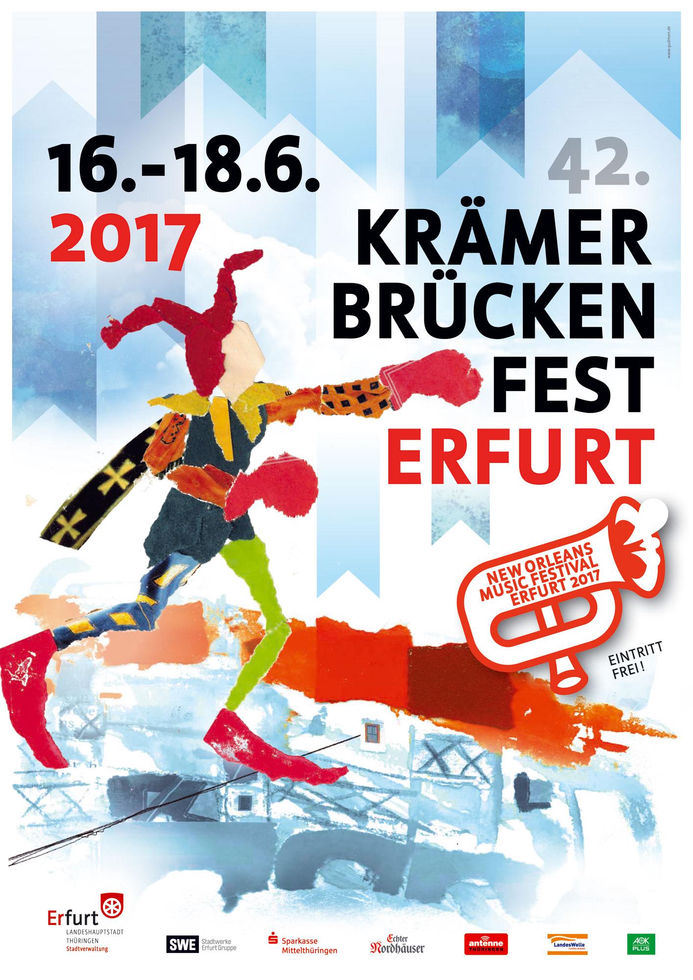 17. Juni 2017 | Salsa auf dem Krämerbrückenfest