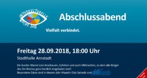 Abschlussabend Interkulturelle Woche @ Stadthalle Arnstadt | Arnstadt | Thüringen | Deutschland