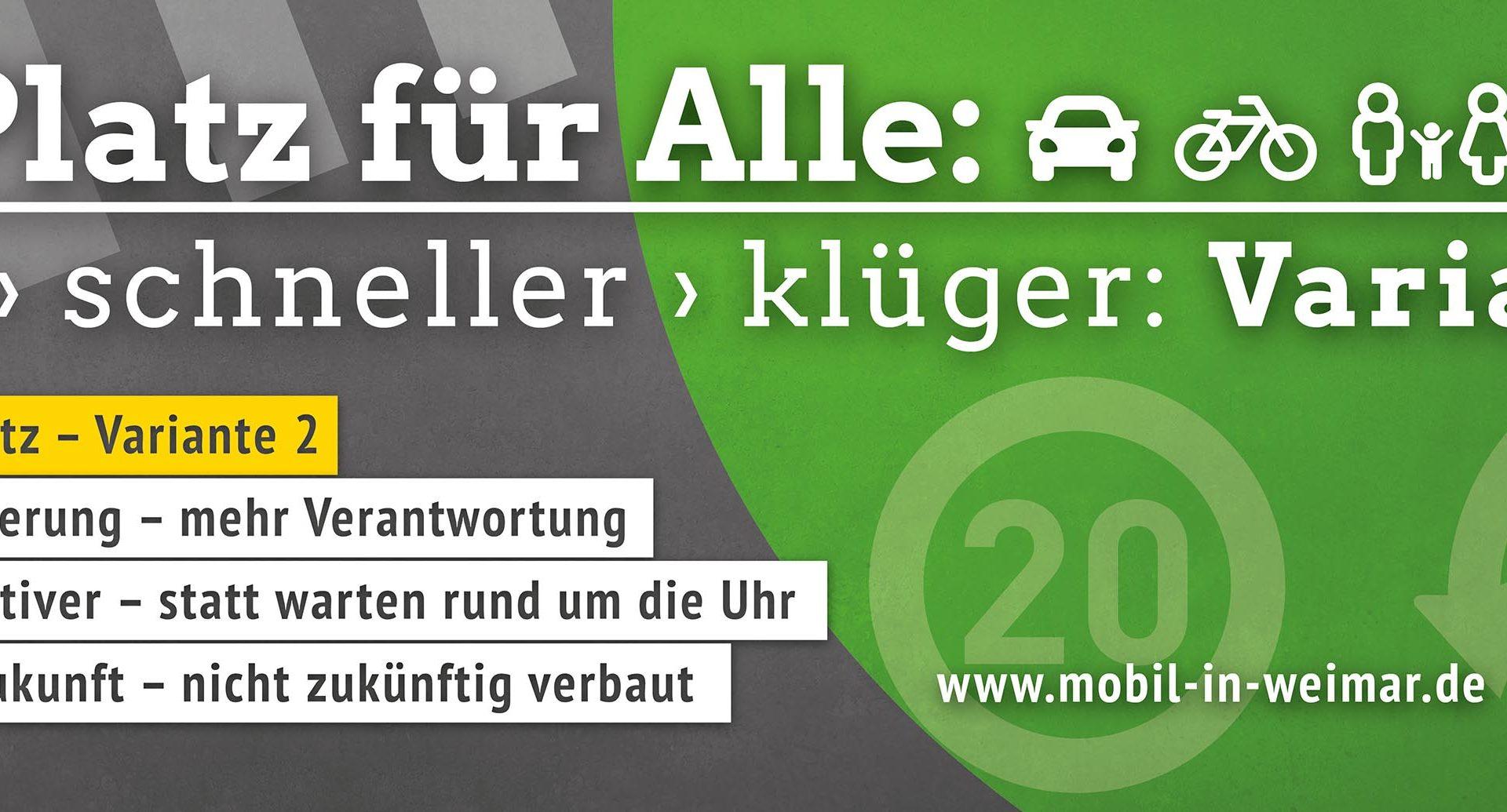 Mobil in Weimar