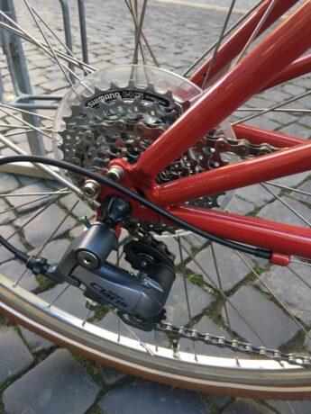 Shimano Claris Damenrad Nachrüstung Service Kettenschaltung